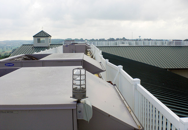 rooftop hvac units at walnut creek foods